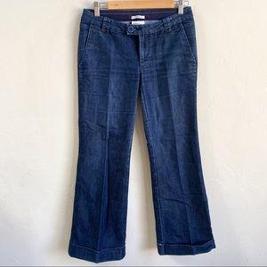 Banana Republic Classic Trouser Leg Denim Jeans
